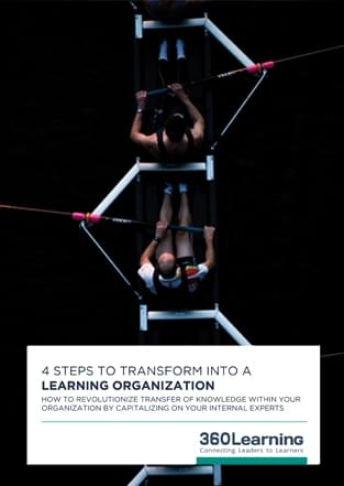 4 steps to transform into a Learning Organization