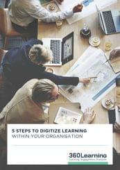 5 steps to digitize training