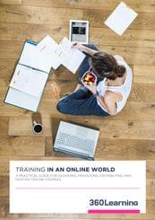 Step by step guide to creating online training