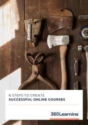 6 Steps to create successful online courses